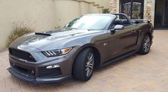2015-2017 Mustang Convertible Spoiler Black Mamba Style by BMC Extreme Customs