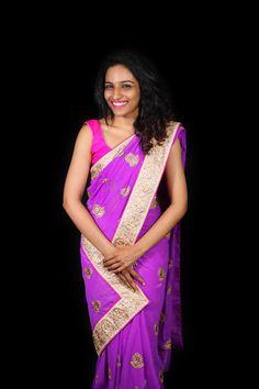 Photo of Woman Wearing Purple Sari Dress · Free Stock Photo Top Fashion Schools, School Fashion, Fashion 2020, Fashion Show, Girl Fashion, Male Fashion, Fashion Days, Photos Of Women, Fashion Tips For Women