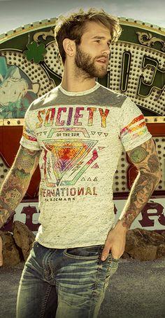 Society Galaxy II T-Shirt - Men's Shirts/Tops | Buckle