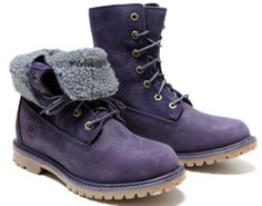 Amazon.com: Wmns Timberland Fleece #3828R: Shoes  I think these are purple!