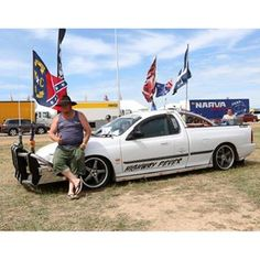 An amazing community that attracts people of all ages to celebrate all things laconically Australian and the icon of the Ute. Toyota Cruiser, Aussies, Big Trucks, Old And New, Motorbikes, Hot Rods, Monster Trucks, October, Bucket