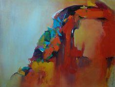 """Joy  Richardson - """"Celebration"""" Acrylic on Canvas #color #energy #canyonroad #CRC"""