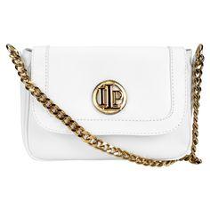 Bolsa Lança Perfume Mini Bag Alça Corrente Branco | Zattini