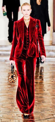 Red Pant Suit Fashion For Women Pinterest Pant Suits