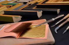 Blattgold für Bilderrahmen