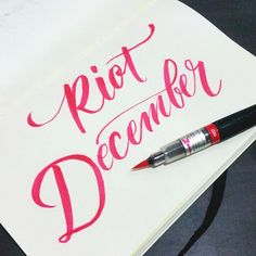 This December is very hectic for us. So sorry in advanced if my feed will not be updated day by day but I will try to upload as much as I can #calligrafikas #brushpen
