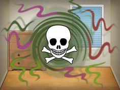 Pilaako tämä myrkkypommi kotisi? Merja Mikkosen mukaan 2-etyyliheksanoli on itse asiassa huomattavasti hometta yleisempi sisäilmaongelmien aiheuttaja.