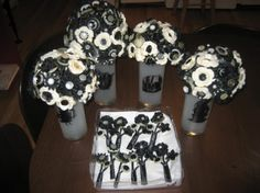 non-floral bouquets... also a great keepsake.