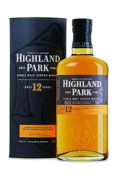 Highland Park 12. A fine young scotch. When I want to change it up from peaty and smoky but still impress.