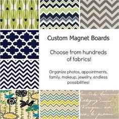 custom magnetic board wall hanging magnet board organizer choose