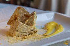 """El semifreddo con amaretto y nocino de Módena, el postre que tomamos en el Antica Moka - """"Restaurante Antica Moka de Módena, Italia: la pasión hecha cocina"""" by @QueLujoDeViaje"""