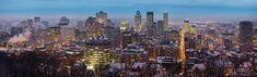 Montreal Twilight Panorama