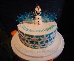 Olaftorte, Olafcake, Frozen Torte, Frozen Cake