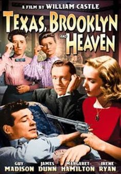 Texas, Brooklyn & Heaven    - FULL MOVIE - Watch Free Full Movies Online: click and SUBSCRIBE Anton Pictures  FULL MOVIE LIST: www.YouTube.com/AntonPictures - George Anton -   Romantic Comedy about would be playwright Eddie and nice girl Perry. After Eddie's grandfather leaves him six thousand dollars, he quits his newspaper job in Texas to move to New York and become a playwright. When his car breaks down en route, a girl, Perry, walking along the highway asks for a lift. She's j..