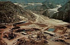 Bagdad Copper Mine, AZ This is one of the places I worked while I was in Arizona selling maintenance products.