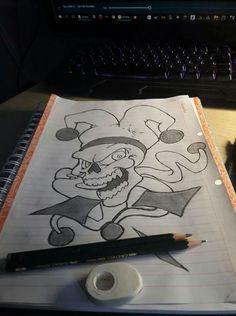 Skull joker 😀😁😃😆😂