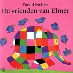 De vrienden van Elmer! Leuk boek voor kleuters.