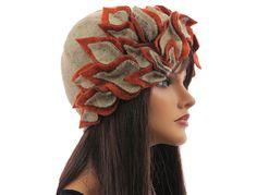 Artsy boho womens winter hat cap woolen hat by classydress on Etsy