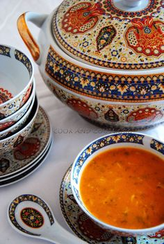 My favourite soup Moroccan Harira Morrocan Food, Moroccan Kitchen, Dinner Party Appetizers, How To Cook Barley, Eastern Cuisine, Cooking Recipes, Healthy Recipes, Middle Eastern Recipes, Arabic Food
