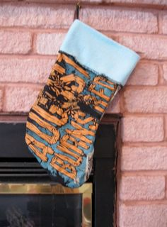 August Burns Red Christmas Stocking DIY Heavy Metal #1 by JingleHell on Etsy