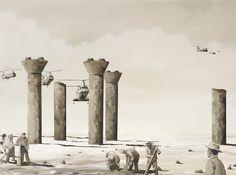 Ben Tankard: The gleaners :: Sir John Sulman Prize 2012 :: Art Gallery NSW