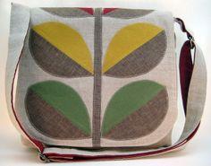 Zakka Style Stem Messenger Bag by freaknoodles, via Flickr