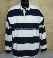 auto stripe rugby shirt