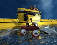 Research Lab Submarine