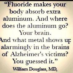 fluoride and aluminum