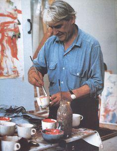 William de Kooning's studio