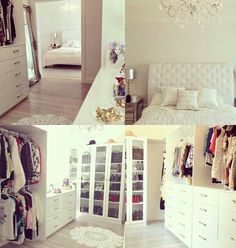 With walk in closet