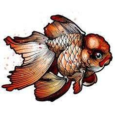 New tattoo watercolor fish goldfish 45 Ideas Koi Fish Drawing, Fish Drawings, Art Drawings, Watercolor Fish, Watercolor Animals, Watercolor Tattoo, Goldfish Tattoo, Carpe, Japan Tattoo