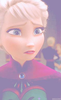 The pain in her eyes here just kills me... It shows how great Disney animation is, how much emotion her face shows