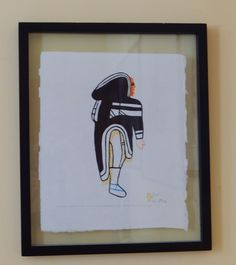 A personal favorite from my Etsy shop https://www.etsy.com/ca/listing/257452323/vintage-inuit-eskimo-litho-cut-stencil