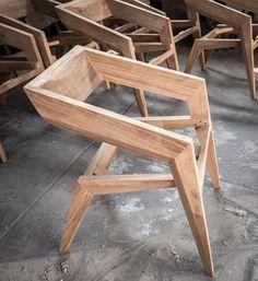Brillante DIY Möbel Projektideen www. Unique Furniture, Furniture Projects, Furniture Plans, Wood Projects, Diy Furniture, Furniture Design, Modern Wooden Furniture, Reclaimed Wood Furniture, Diy Chair