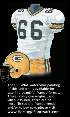 Green Bay Packers Uniform History Welcome to Heaven - http://touchdownheaven.com/category/categories/green-bay-packers-fan-shop/