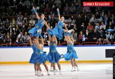 Nice Lift from Marigold Ice Unity from Finland, 2011 Worlds