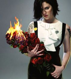 Brody Dalle - girl on fire   what a muse