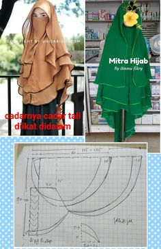 Niqab Fashion, Muslim Fashion, Hijab Style Dress, Kids Dress Patterns, Hijab Fashion Inspiration, Muslim Dress, Islamic Clothing, Clothing Hacks, Mode Hijab