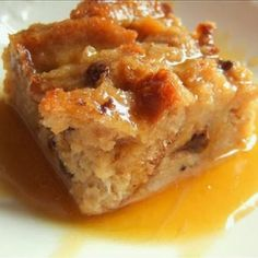Pressure cooker vanilla bread pudding. Very delicious bread pudding with bourbon sauce cooked in pressure cooker.An excellent dessert!