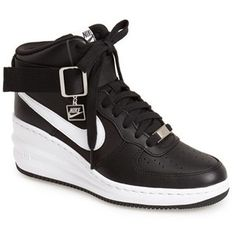 brand new 33fbe 017d8 ... Women s Nike  Lunar Force Sky Hi  Wedge Sneaker . ...
