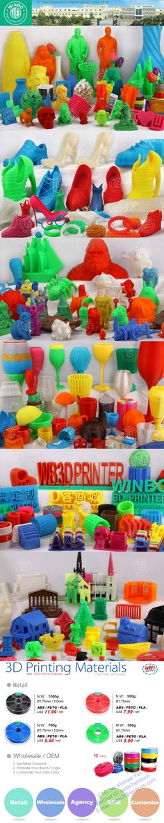 We manufacture and sell 3D Printer and Filament. This is Michael in Guangzhou, China. E-mail: sales7@winbocn.com