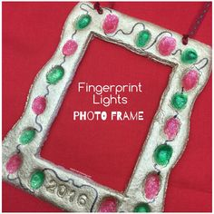 fingerprint photo frame