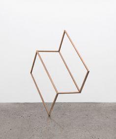 // Joshua Citarella, Telekinetic Aesthetic (2013) Copper Plated Steel, Rare-Earth Magnets