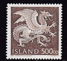 Iceland 1989 stamp