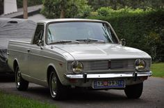 Early series Hillman Hunter Ute built in Syria.