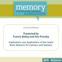 Learn how to design your instruction to be more in sync with how your students' brains are working.