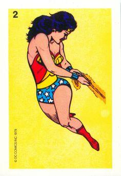 Wonder Woman card game #2 card.