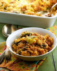 Cheesy Vegan Quinoa Bake   FaveGlutenFreeRecipes.com