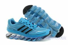 Womens Adidas Springblade Running Skyblue Adidas Running Shoes 59c3ef3d0